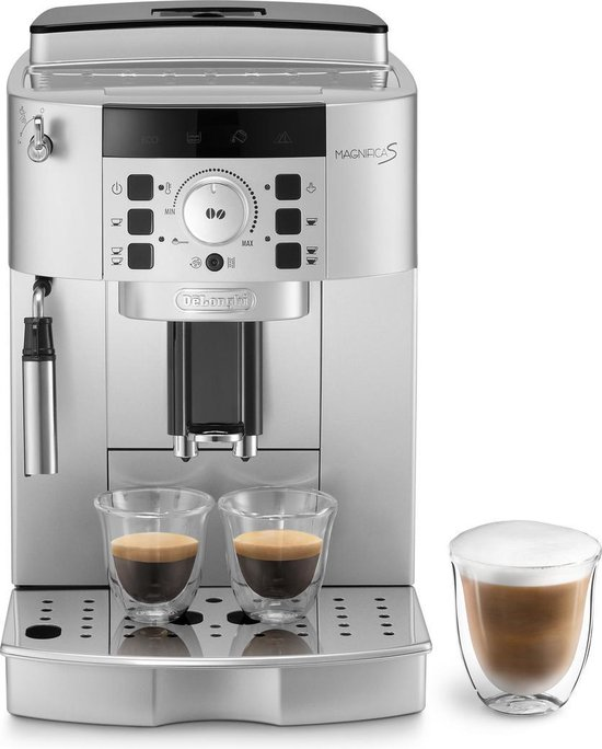 De'Longhi Magnifica S ECAM 22.110.SB – Volautomatische espressomachine – Zilver