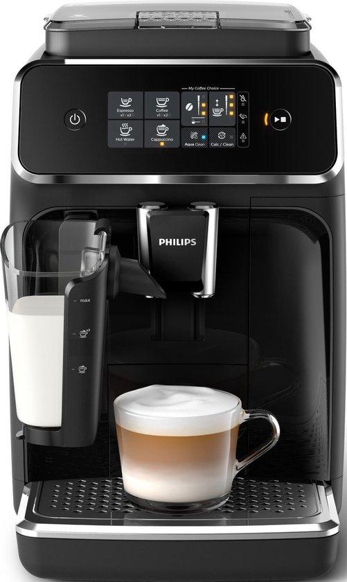 Philips LatteGo 2200 Serie EP2231/40 – Espressomachine – Zwart/RVS