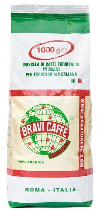 Bravi Caffé – koffiebonen – 100% Arabica