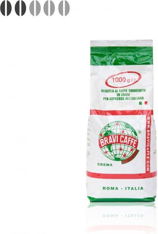 Bravi Caffe – koffiebonen – Crema