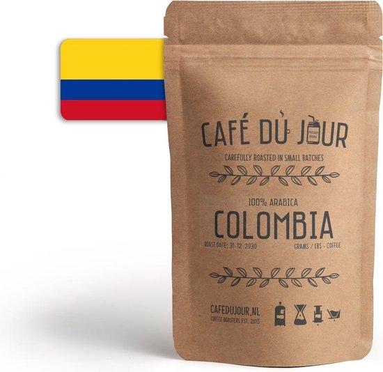 Café du Jour 100% arabica Colombia 250 gram vers gebrande koffie