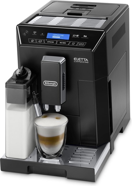 De'Longhi Eletta Cappuccino ECAM 44.660.B - Volautomatische espressomachine - Zwart